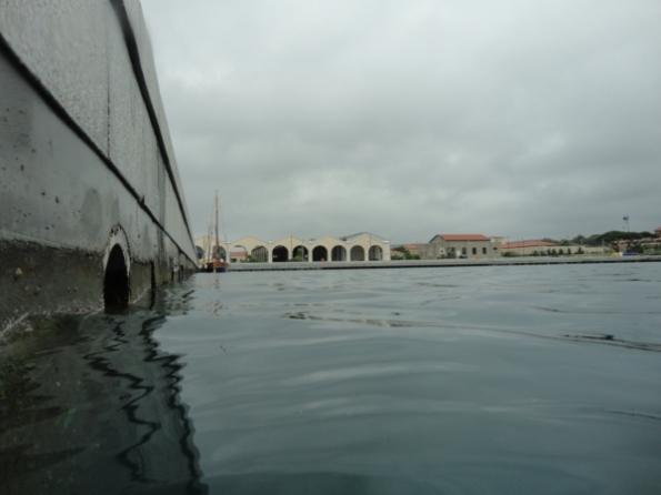 La Maddalena, ex Arsenale, bacino (oggi porticciolo turistico)