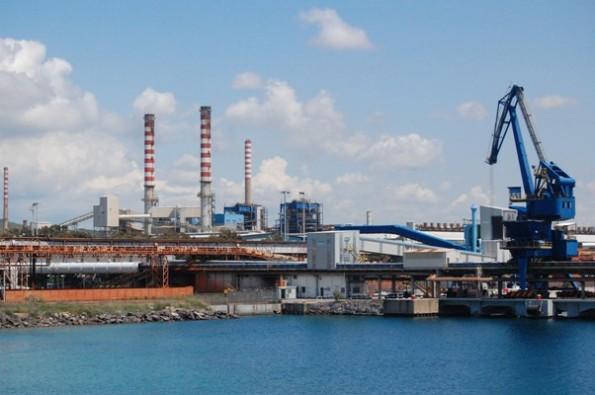 Portoscuso, porto e zona industriale di Portovesme