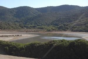 Costa sud-occidentale della Sardegna, Domus de Maria, Stagno retrodunale di Piscinnì