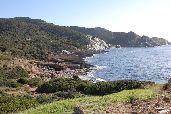 Sardegna sud-occidentale, Teulada, costa