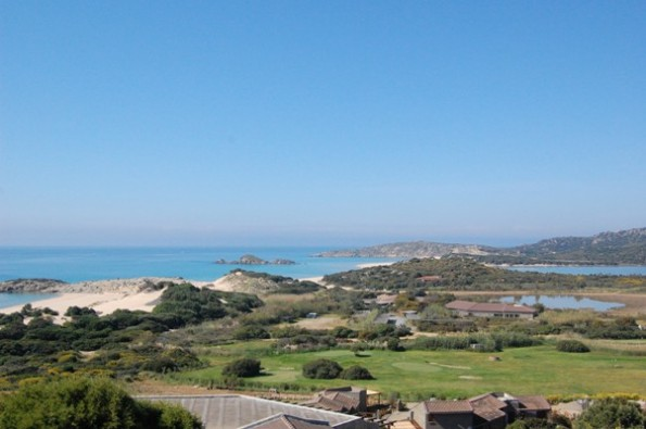 Domus de Maria, Chia, veduta panoramica