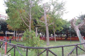 giardino Viale Trento con Croce di S. Avendrace