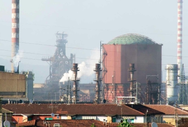 Piombino, stabilimenti industriali