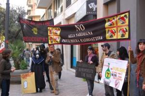 Cagliari, manifestazione antinucleare