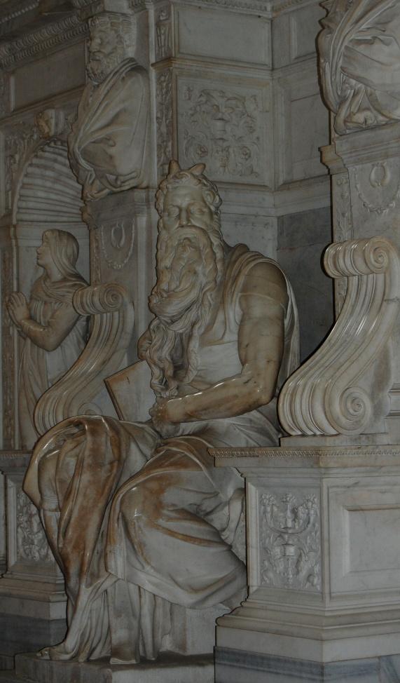 Roma, S. Pietro in Vincoli, Mosè (Michelangelo Buonarroti, 1513-1515)
