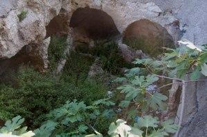 Cagliari, Bonaria, tombe romane