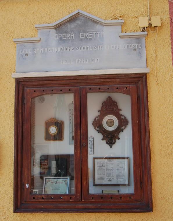 Carloforte, barometro comunale
