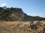 San Vito, Bruncu Molentinu – Bruncu su Tiriaxiu, cantiereminerario