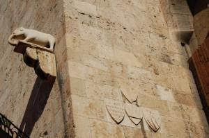 Cagliari, Castello, l'Elefante sulla Torre