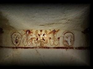 Cagliari, Tuvixeddu, interno tomba punica