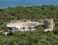 """Olbia, Villa """"La Certosa"""", anfiteatro"""
