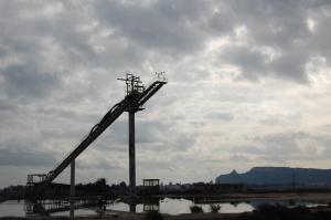 """Cagliari, parco naturale regionale """"Molentargius-Saline"""", impianti salinieri"""