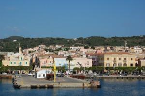 Carloforte, centro storico visto dal mare