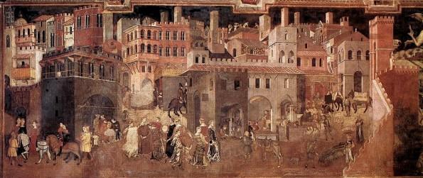 Ambrogio Lorenzetti, Allegoria del Buon Governo, Siena (1338-1339)