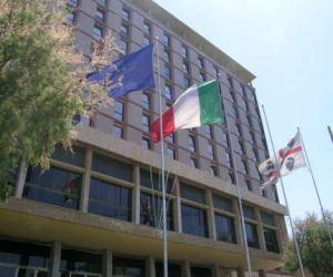 Cagliari, Viale Trento, sede della Regione autonoma della Sardegna