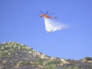 Sardegna, incendio