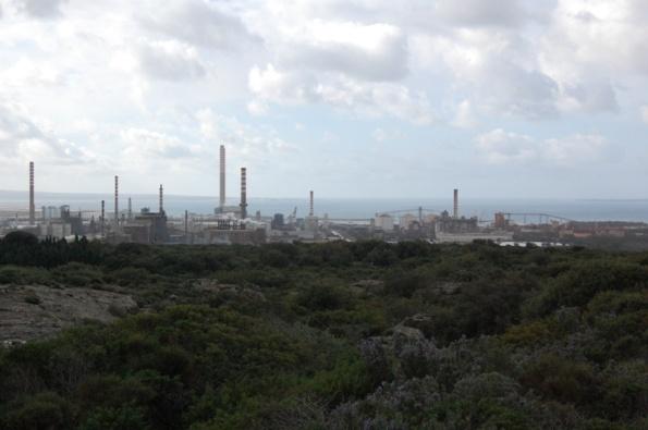 Portoscuso, zone industriale di Portovesme