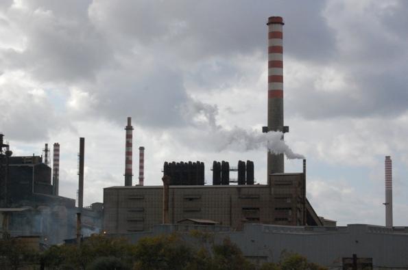 Portoscuso, polo industriale di Portovesme