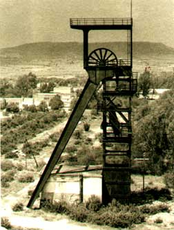 Carbonia, miniera di Serbariu (anni '50)