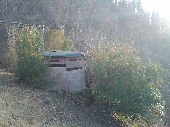 Valdagno, Contrada Bernardi, bunker di caccia