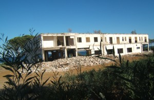 Castiadas, cantiere ristrutturazione e ampliamento Hotel Villa Rey (2007)