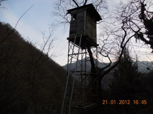 Arsiero, Via Maso, altana di caccia