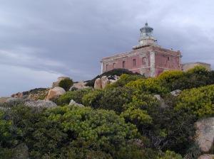 Domus de Maria, faro di Capo Spartivento (prima della trasformazione)