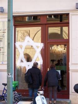 Germania, negozio di ebrei deturpato, 2007