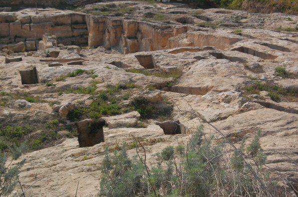 Cagliari, Tuvixeddu, area archeologica (tombe puniche)