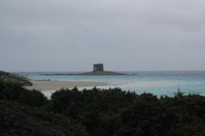 Stintino, spiaggia e Torre della Pelosa