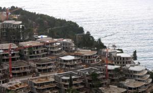 Montenegro, Budva, speculazione immobiliare (AFP Photo/Savo Prelevic)