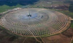 Spagna, Fuentes de Andalucía, centrale solare termodinamica a concentrazione