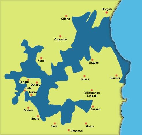 perimetrazione provvisoria del parco nazionale del Gennargentu-Golfo di Orosei (D.P.R. 30 marzo 1998)