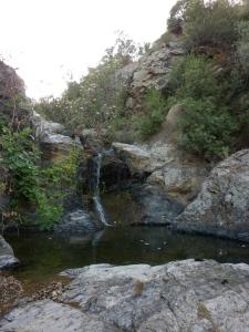 Vallermosa, cascata Su Caddaxiu
