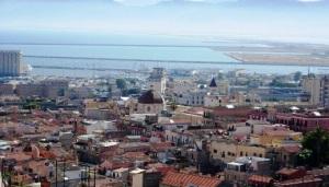 Cagliari, panorama dal Bastione di S. Croce