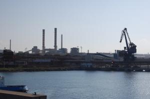 Portoscuso, zona industriale di Portovesme