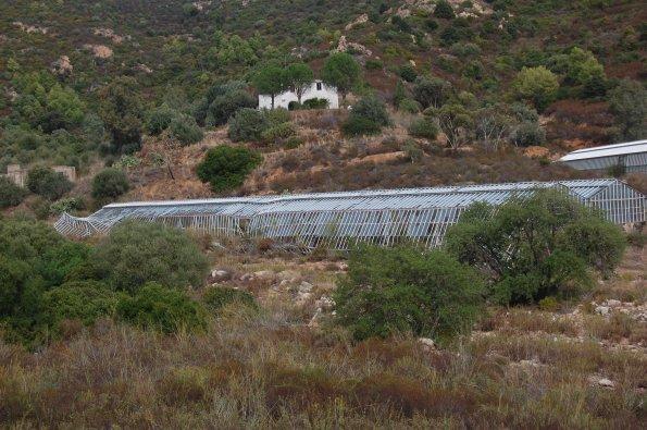 Capoterra, Rio S. Girolamo, serre travolte dalle alluvioni (1999, 2008)