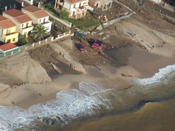 Capoterra, Frutti d'Oro, alluvione (autunno 2008)