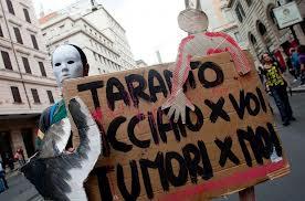 Taranto, manifestazione contro l'inquinamento
