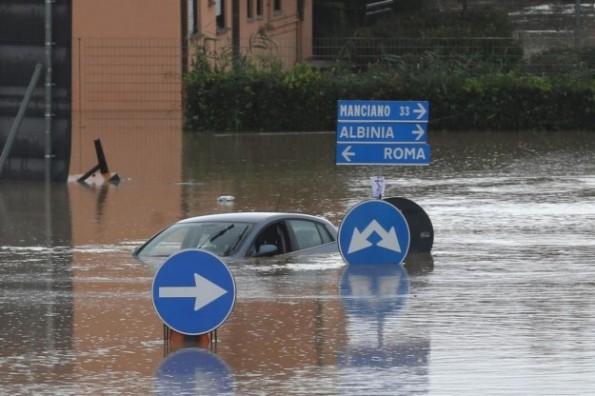Albinia, alluvione (novembre 2012)