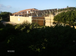 Badesi, cantiere sulle dune