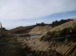 Badesi, cantiere edilizio sulle dune (dicembre 2012)