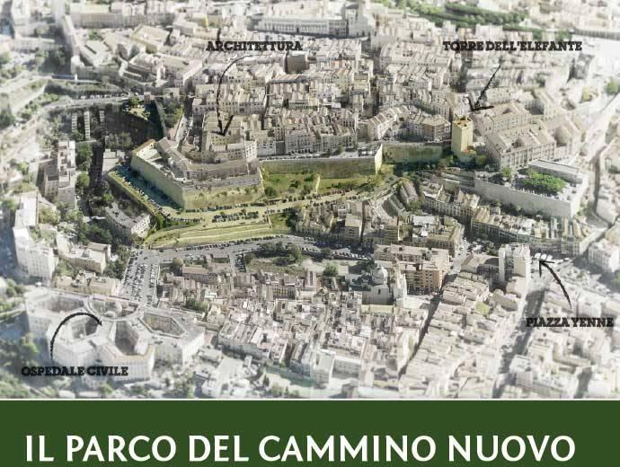 Il cammino nuovo il progetto del percorso verde e del for Progetto verde