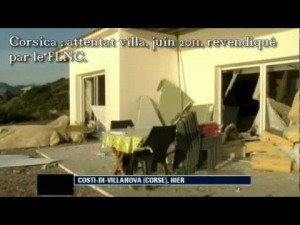 Corsica, attentato a una villa sulla costa