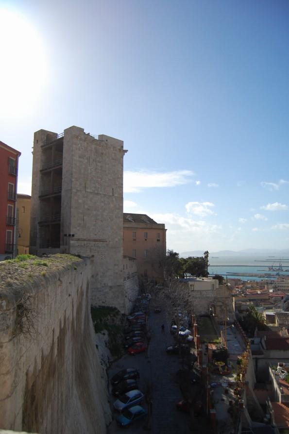 Cagliari, Bastione di S. Croce