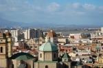 Cagliari, il quartiere storico di Stampace visto dal Bastione di S.Croce