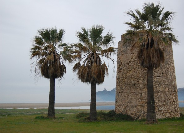Cagliari, Poetto, Torre spagnola