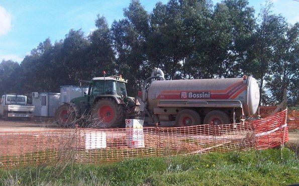 Decimoputzu, Villasor, centrale a biomassa, conferimento materiali nauseabondi