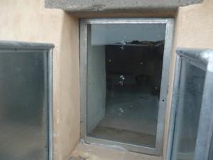 Maracalagonis, Torre delle Stelle, Torre de su Fenugu, finestra (particolare)