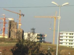 Roma, Tor Chiesaccia, cantieri in corso